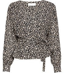 petra blouse lange mouwen multi/patroon fall winter spring summer