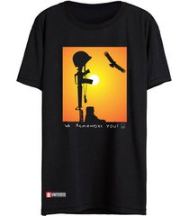camiseta vinteseis remember preto