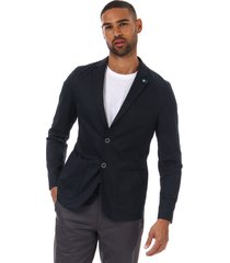 mens cliford piece dyed cotton blazer