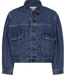 lmc sunray trucker lmc sunshin jeansjack denimjack blauw levi's made & crafted
