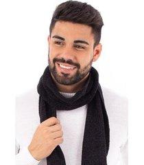 manta masculina de malha chenille sumaré 10443 - masculino