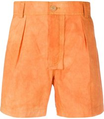 orange le tennis shorts
