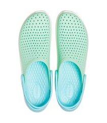 sandália literide kids crocs ™ verde claro.