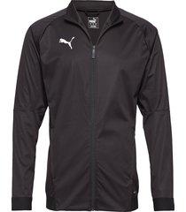 liga sideline softshell jkt outerwear sport jackets svart puma