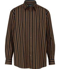 overhemd men plus cognac