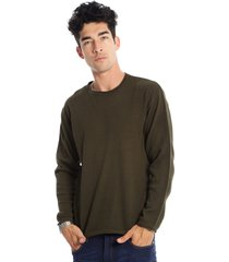 sweater verde gabucci casual