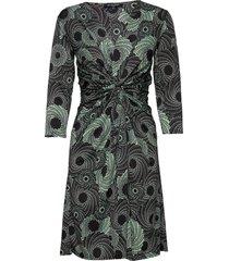 dress knälång klänning grön ilse jacobsen