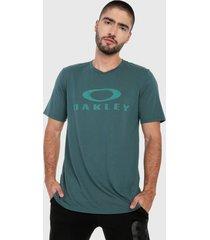 camiseta verde oakley