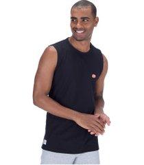 camiseta regata ecko e738a - masculina - preto