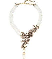 heidi daus women's crystal rose necklace