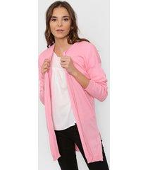 cardigan rosa nano lanilla