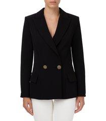 double crepe jacket