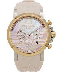 reloj mulco para mujer - lush bee  mw-3-17290-113