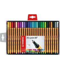 stabilo point 88 pen wallet set, 25 pieces