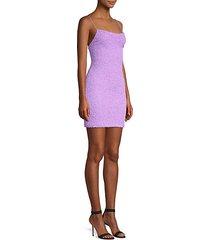 harmie squareneck mini dress