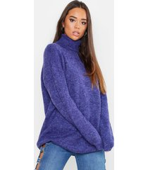 oversized coltrui, denim-blue