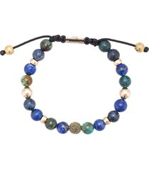 nialaya jewelry blue lapis, blue dumortierite and bali turquoise