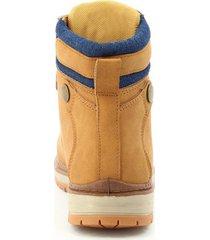 botas outdoor para mujer marca via spring via spring - marrón