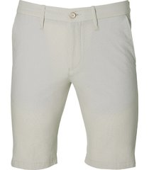 hensen short - slim fit - beige