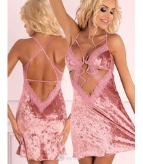 * livco corsetti roze babydoll cadrean
