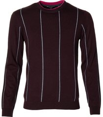 ted baker pullover - slim fit - rood