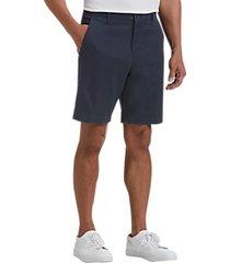 joseph abboud navy modern fit shorts