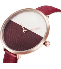 orologio da donna alla moda con cinturino sottile al quarzo semplice da orologio da donna. orologio minimalista impermeabile