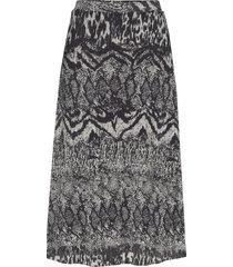 skirts knitted knälång kjol multi/mönstrad esprit collection
