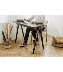biurko vogel s dąb czarny, czarne nogi