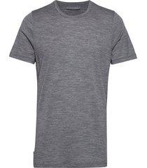 mens tech lite ss crewe t-shirts short-sleeved grå icebreaker