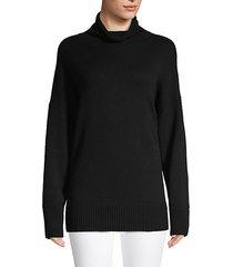 funnelneck cashmere sweater