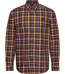6 col. gingham shirt skjorta casual multi/mönstrad fred perry