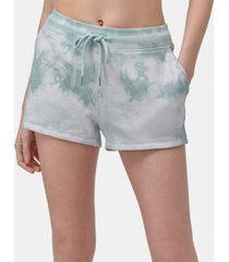 marc new york performance women's tie dye french terry lounge short