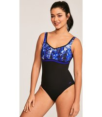 contourluxe printed 1 piece one-piece swimsuit