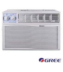 ar condicionado janela gree com 21.000 btus, frio, mecanico, branco