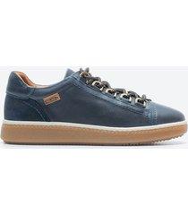 zapato casual mujer pikolinos z09u azul