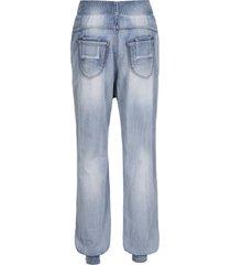 baggy jeans met intense wassing