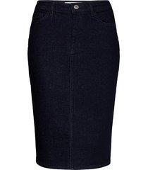 buibui skirt 12900 knälång kjol blå samsøe samsøe