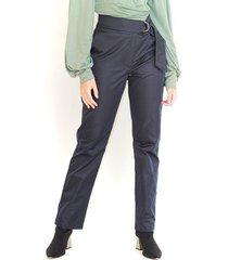 pantalón skinny color blanco, 4 bolsillos, cierre delantero, tiro alto color-azul-talla-6
