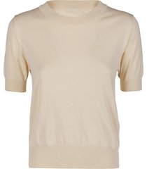 ecru cotton t-shirt