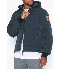 morris duncan down jacket jackor blue