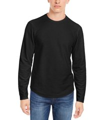 linear textured pullover t-shirt