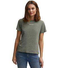denham t-shirt camellia