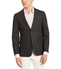 calvin klein men's slim-fit stretch textured sport coat