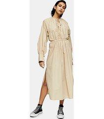 *camel smock dress by topshop boutique - camel