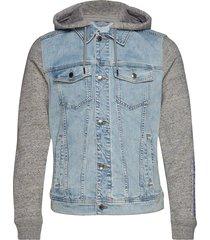 denim jacket jeansjacka denimjacka blå hollister