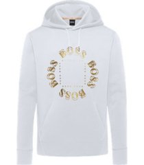 boss men's sly hooded sweatshirt