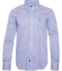 camisa casual comfort tech estampada mcgregor