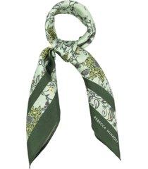 rebecca minkoff blooming tendils silk bandana scarf