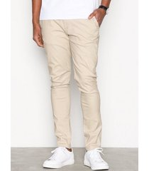 tailored originals pants - rainford byxor silver